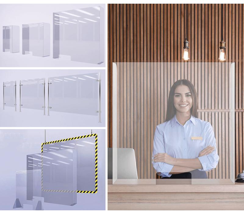 Защитные экраны – эффективный и бюджетный способ защитить самую важную часть вашего бизнеса