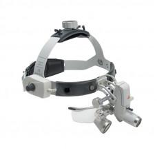 Бинокулярная лупа HR 2,5x на шлеме с защитным щитком S-Guard (без крепления )  (Set B)