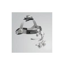 Бинокулярная лупа Heine HR 2.5х на шлеме с защитным щитком