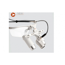 Осветитель и лупа бинокулярная Heine LED LoupeLight HRP 6.0х