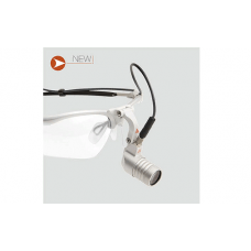 Налобный осветитель Heine LED MicroLight (2) на очковой оправе S-Frame